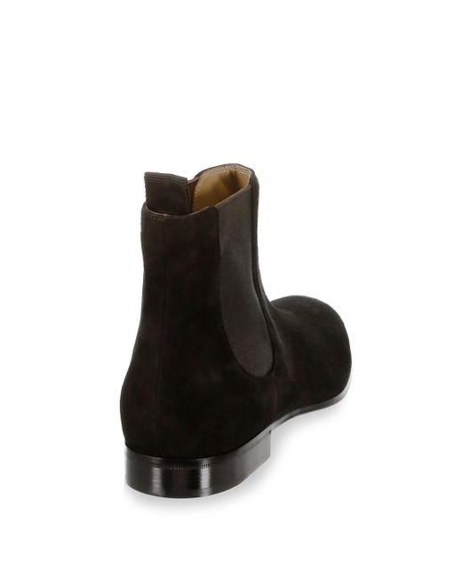 Gianvito Rossi Chelsea Leather Suede Boots 1ilfh0YU6u