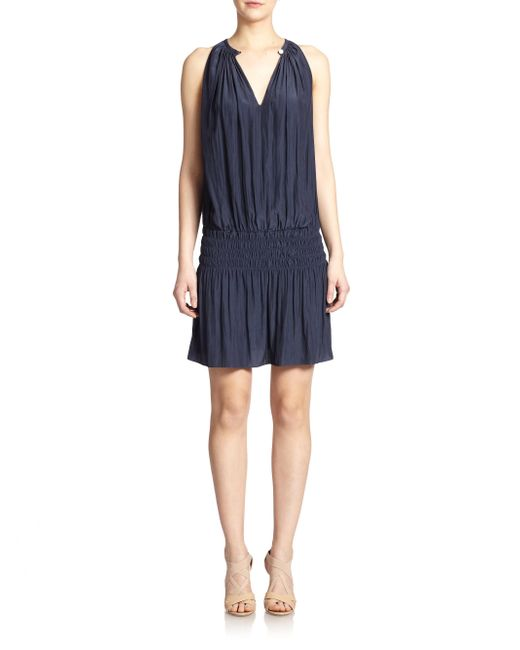 Ramy Brook - Blue Paris Sleeveless Dress - Lyst