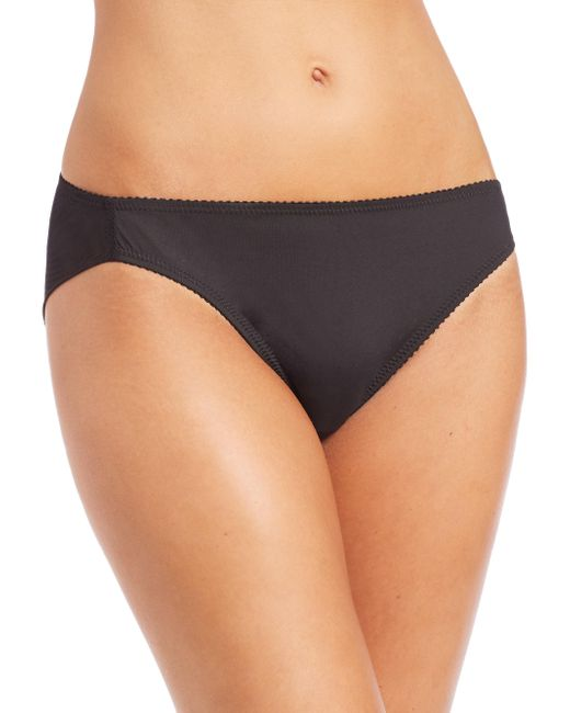 Fortnight | Black Seamless Bikini Brief | Lyst
