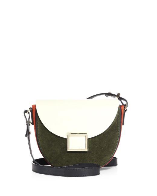 Jason Wu | Multicolor Mini Jaime Two-tone Leather Saddle Bag | Lyst