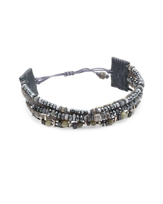 Chan Luu - Multicolor Labradorite Mix Pull Bracelet - Lyst