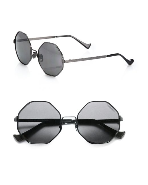 Cutler & Gross - Black 51mm Octagon Sunglasses - Lyst