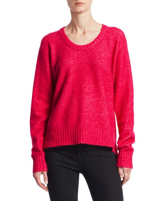 3.1 Phillip Lim - Multicolor Women's Exclusive Wool-blend Sweater - Hibiscus - Size Xs - Lyst