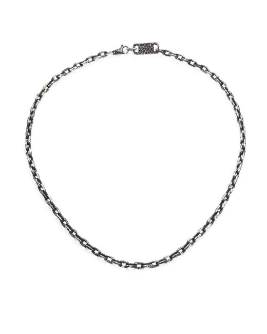 King Baby Studio - Metallic Sterling Silver Boat Link Necklace for Men - Lyst