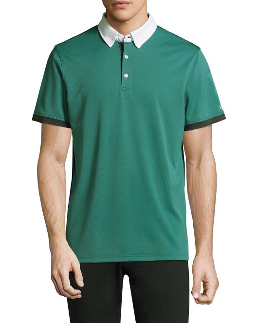 AG Green Label | Green Deuce Short-sleeve Polo for Men | Lyst