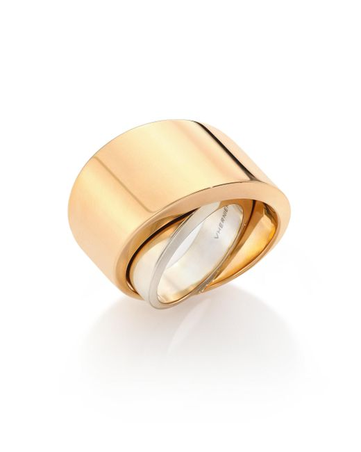 Vhernier - Pink Tourbillon 18k Rose Gold Ring - Lyst
