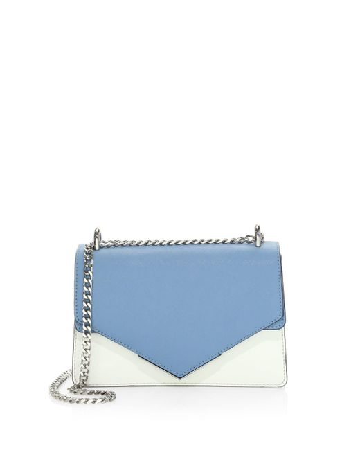 Botkier - Blue Cooper Small Leather Crossbody Bag - Lyst