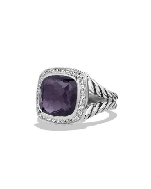 David Yurman | Multicolor Albion Ring With Diamonds | Lyst