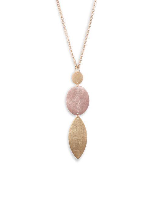 Stephanie Kantis - Metallic Paris Eye Oval Necklace - Lyst