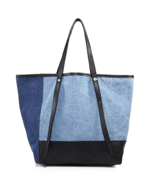 See By Chloé | Black Andy Denim Tote | Lyst