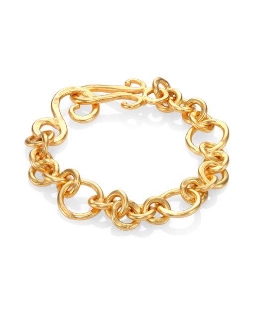 Stephanie Kantis | Metallic Coronation Small Chain Bracelet | Lyst