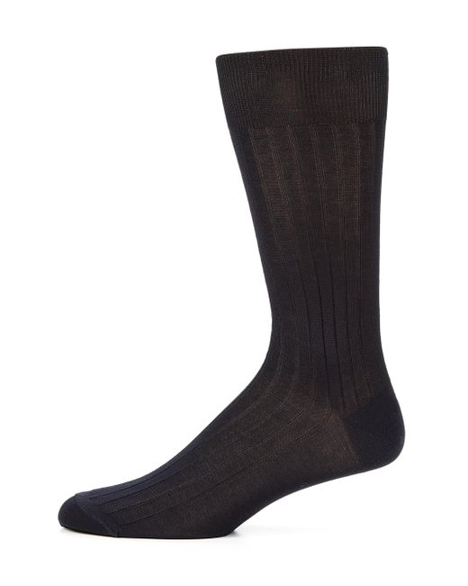 Saks Fifth Avenue | Blue Cotton-blend Dress Socks for Men | Lyst