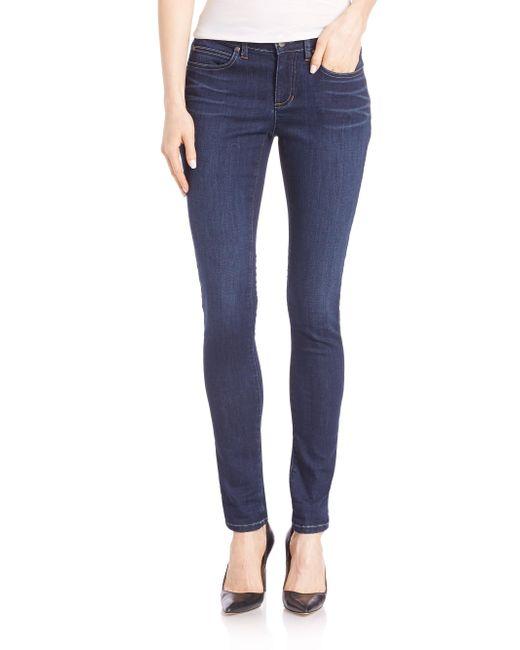 Eileen Fisher - Blue Skinny Jeans - Lyst