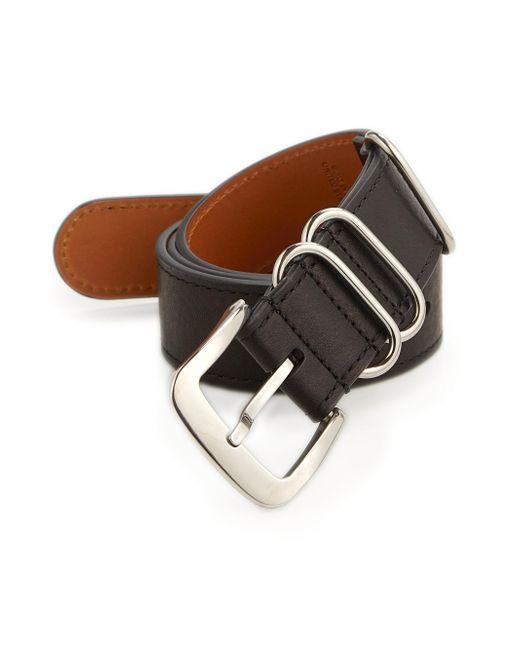 Shinola | Black Nato Leather Belt for Men | Lyst