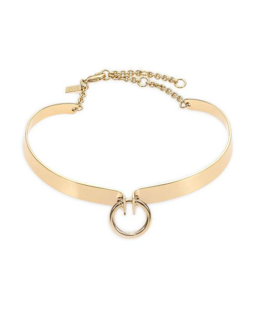 Alexis Bittar | Metallic Miss Havisham Bar Choker Necklace | Lyst