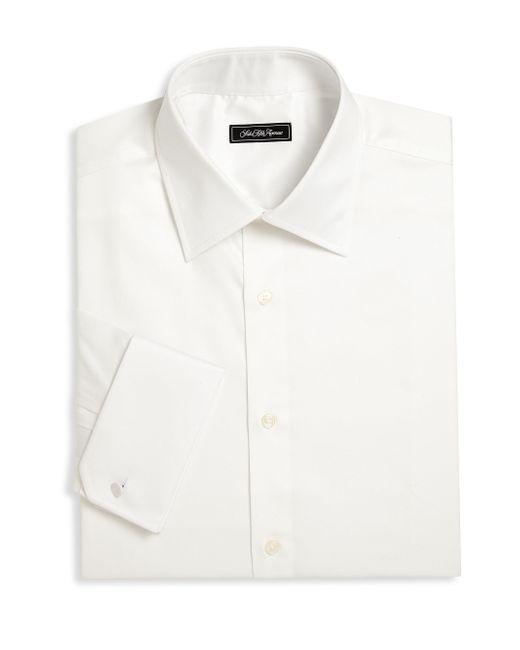 Saks Fifth Avenue | White Regular-fit Dress Shirt for Men | Lyst