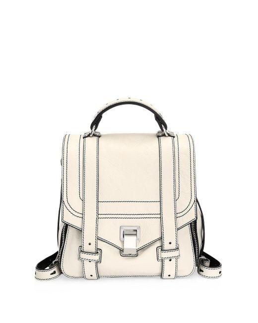 Proenza Schouler - Multicolor Ps1+ Zip Leather Backpack - Lyst