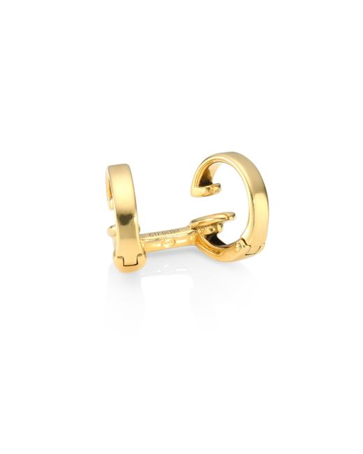 Repossi | Metallic Two Row 18k Yellow Gold Ear Cuff | Lyst
