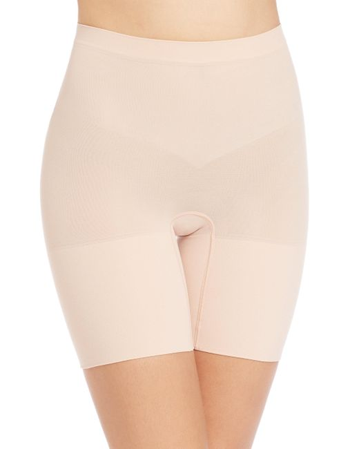 Spanx - Natural Power Shorts - Lyst