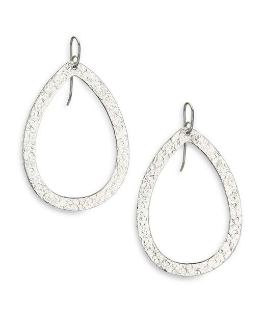 Stephanie Kantis | Metallic Paris Large Teardrop Earrings | Lyst