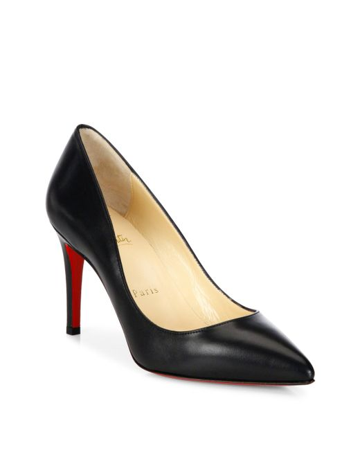 Christian Louboutin - Black Pigalle Pumps - Lyst