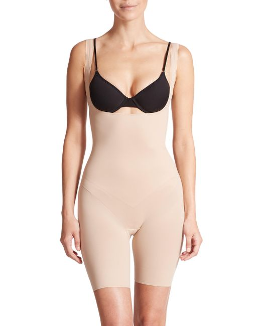 Tc Fine Intimates - Natural Low-back Torsette Thigh Slimmer - Lyst