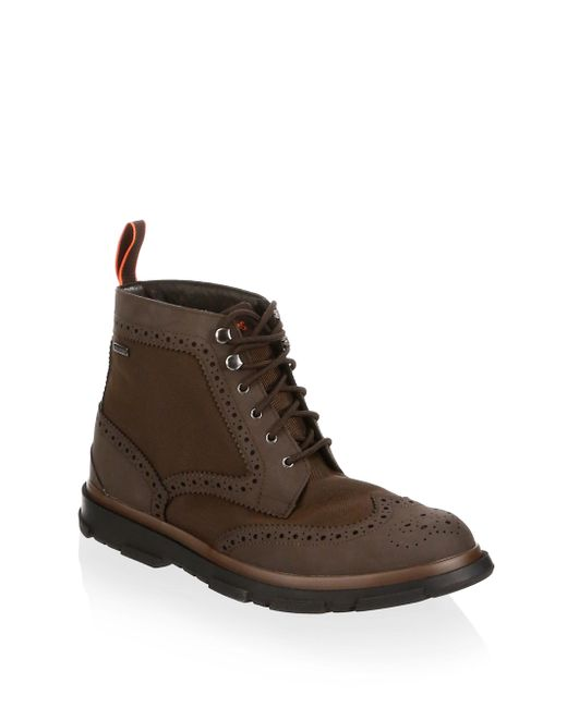 Swims - Brown Storm Brogue Boots for Men - Lyst