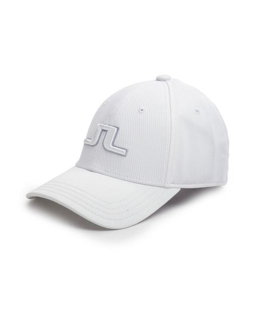 J.Lindeberg - White Banji Baseball Cap for Men - Lyst