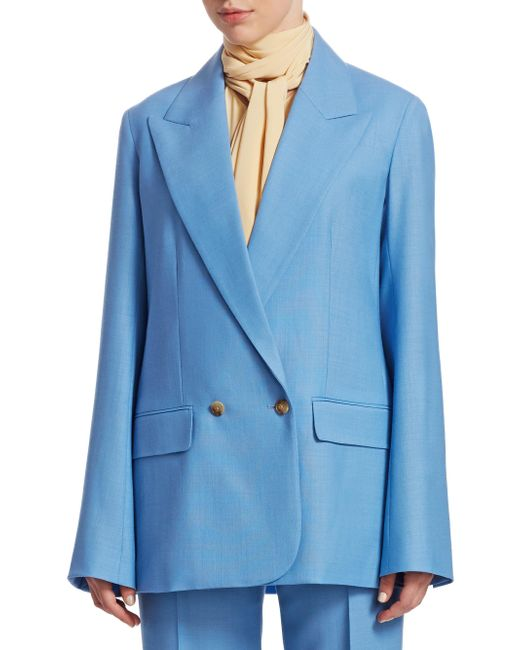 The Row - Blue Presner Jacket - Lyst