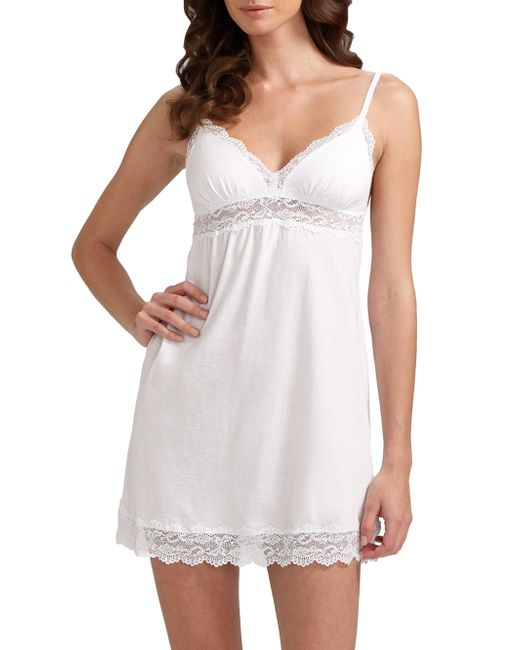 Cosabella | White Babydoll Chemise | Lyst