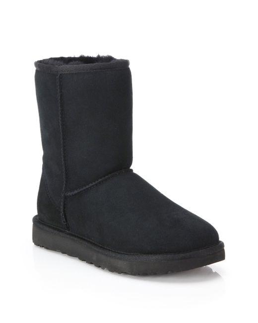 Ugg - Black Classic Short Ii Boots - Lyst