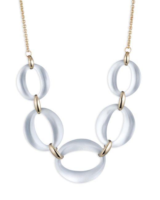 Alexis Bittar - Metallic Essentials Link Statement Necklace - Lyst
