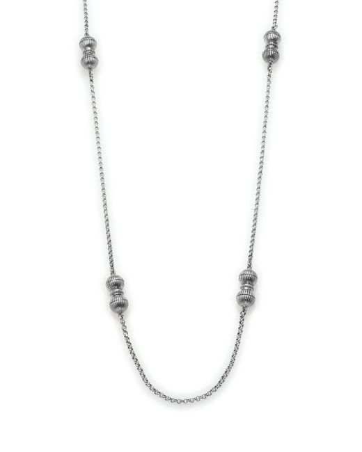 Konstantino - Metallic Hebe Sterling Silver Link Chain Necklace - Lyst