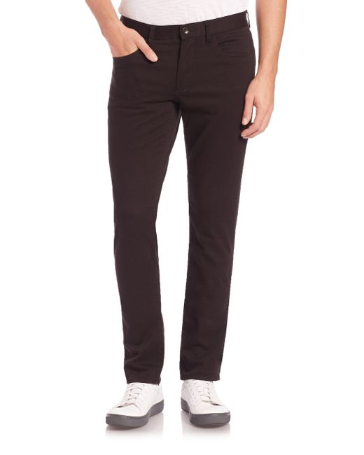 Vince   Black Essential Five-pocket Straight-leg Soho Jeans for Men   Lyst