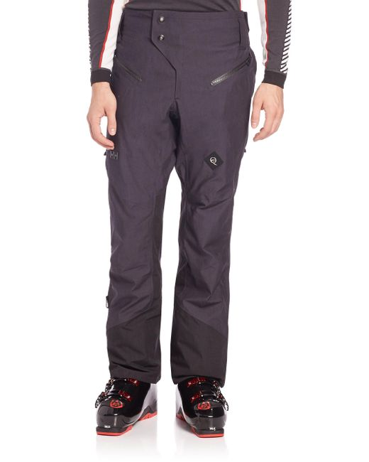Helly Hansen | Black Cross Pants for Men | Lyst