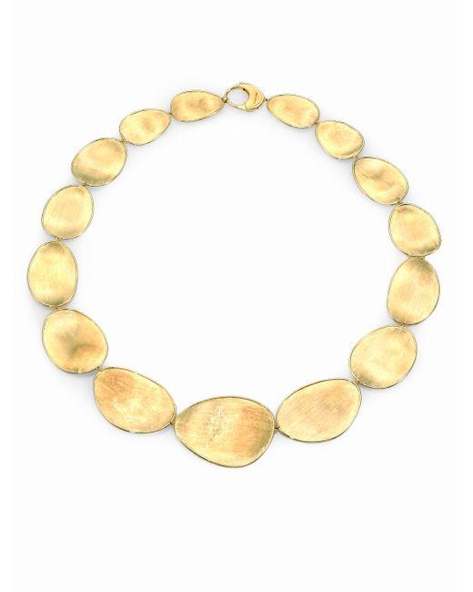 Marco Bicego - Metallic Lunaria 18k Yellow Gold Collar Necklace - Lyst