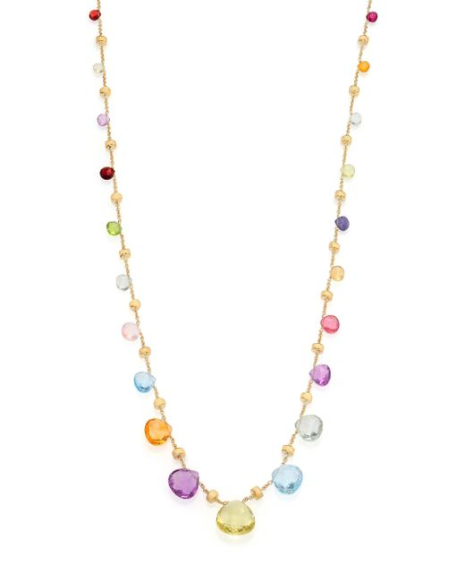 Marco Bicego - Metallic Paradise Semi-precious Multi-stone & 18k Yellow Gold Long Necklace - Lyst