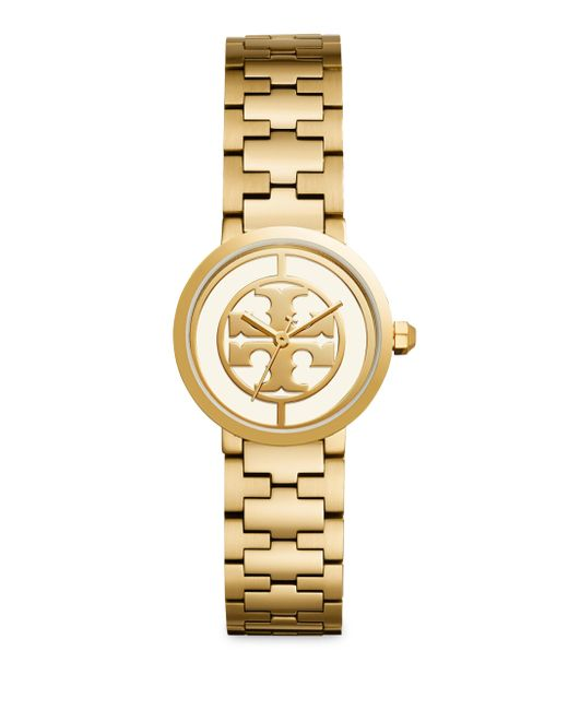 Tory Burch - Metallic Reva Stainless Steel Strap Watch - Lyst