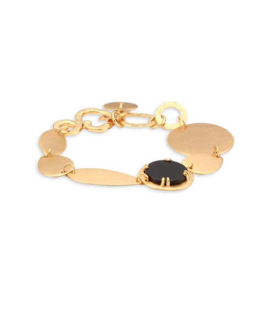 Stephanie Kantis - Metallic Oval Chain Bracelet - Lyst