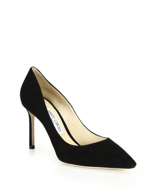 Jimmy Choo | Multicolor Romy Suede Pumps | Lyst