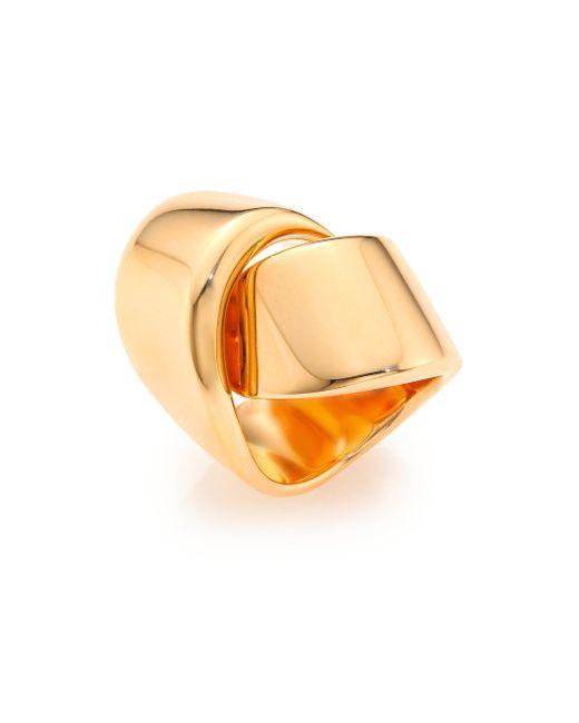 Vhernier - Pink Abbraccio 18k Rose Gold Ring - Lyst
