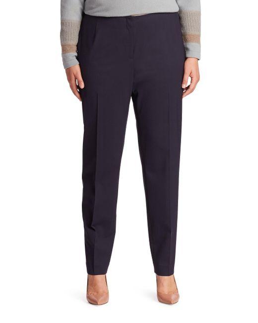 Lafayette 148 New York - Multicolor Stanton Stretch-virgin Wool Pants - Lyst