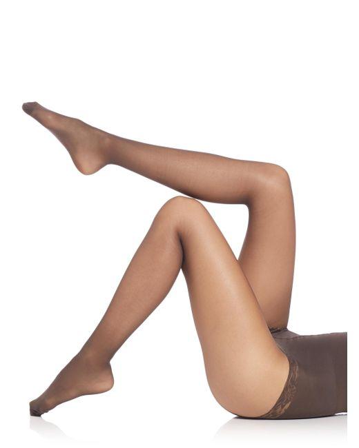 Falke - Gray Shaping Top 20 Pantyhose - Lyst