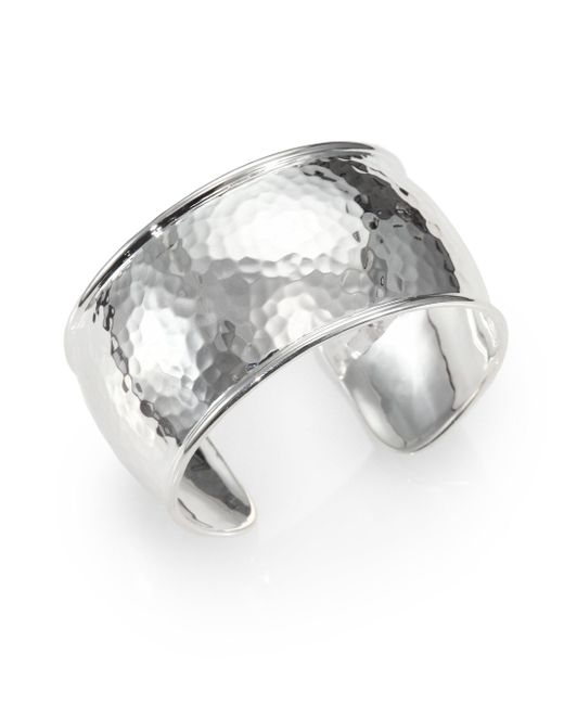 Ippolita | Metallic Glamazon Sterling Silver Flat Cuff Bracelet | Lyst