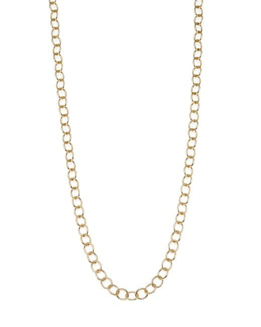 Temple St. Clair | Metallic 18k Yellow Gold Classic Oval Link Necklace Chain/18 | Lyst
