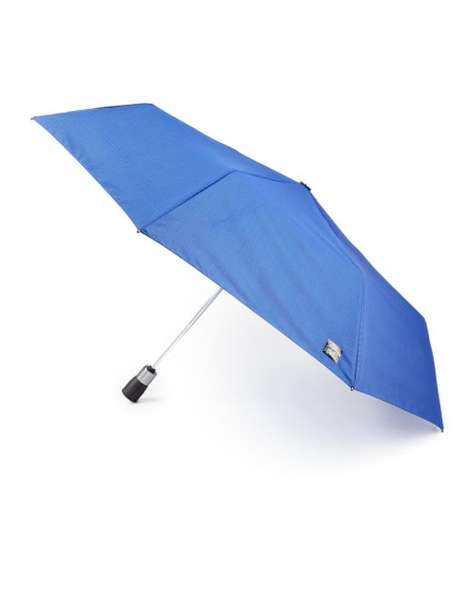 Saks Fifth Avenue | Blue Three-section Automatic Umbrella | Lyst