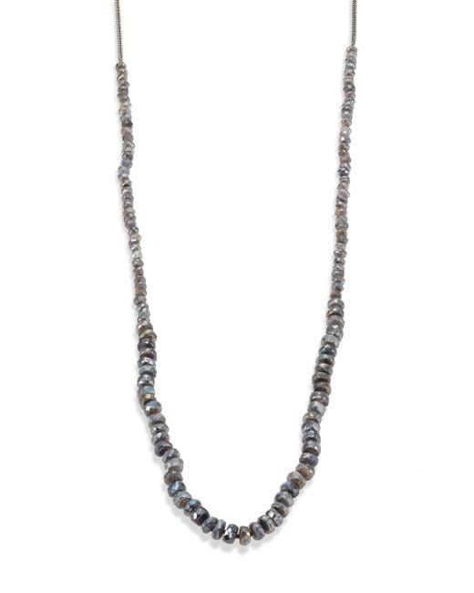 Chan Luu - Metallic Mystic Lab Beaded Necklace - Lyst