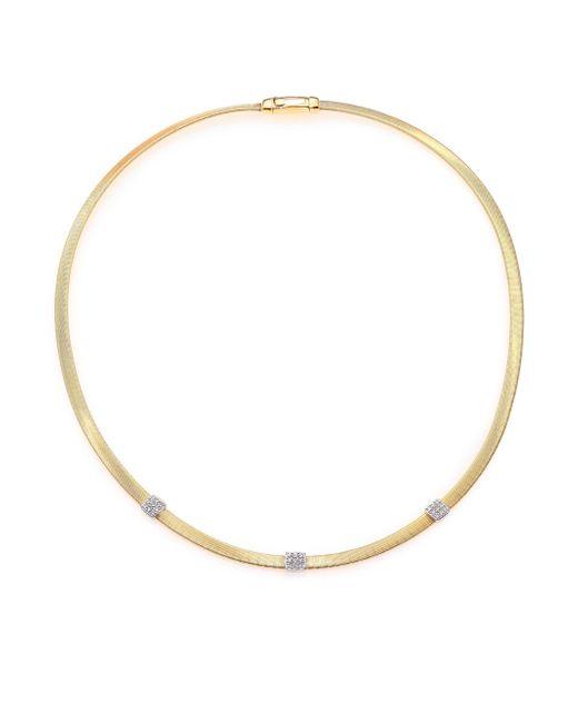 Marco Bicego | Metallic Masai Diamond, 18k Yellow Gold & 18k White Gold Station Necklace | Lyst