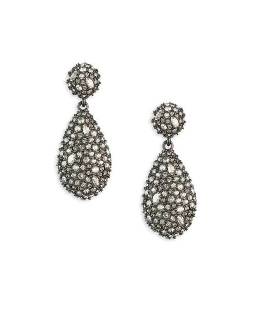 Alexis Bittar - Metallic Earring Capsule Swarovski Crystal Pod Drop Earrings - Lyst