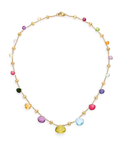 Marco Bicego - Metallic Paradise Semi-precious Multi-stone & 18k Yellow Gold Necklace - Lyst